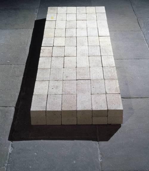 Carl Andre, Equivalent VIII 1966 Carl Andre/VAGA, New York and DACS, London 2002
