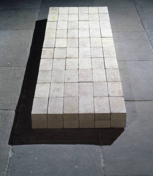 Carl Andre, Equivalent VIII 1966 Carl Andre/VAGA, New York and DACS, London 2002