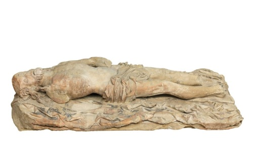 Dead Christ (1500–20) Courtesy: The Mercers' Company